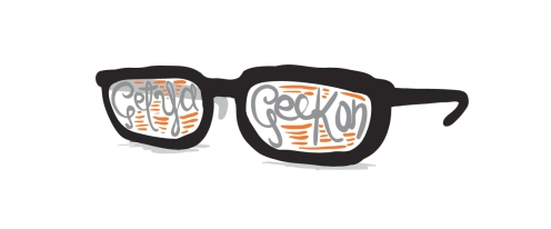 get your geek the creative panic ben hood one a day project #oneaday gemma critchley illustration geek glasses nerd glasses drawing art